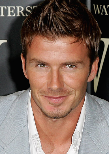 David Beckham short spiky Haircut