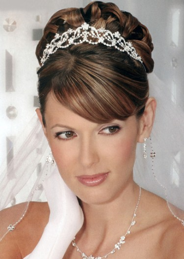 2012 wedding updo