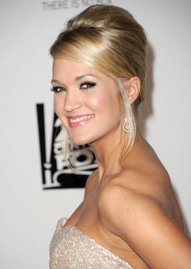 Carrie Underwood French Twist