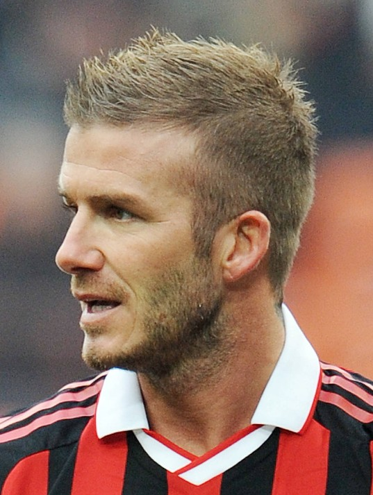 Men's Short Hairstyles: David Beckham short haircut