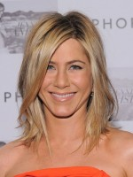 Jennifer Aniston Medium Straight haircut