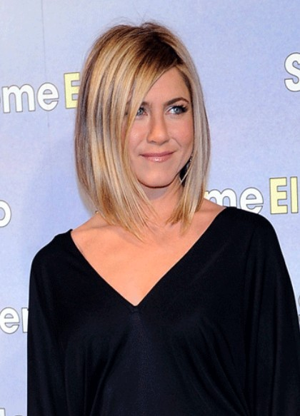 Jennifer Aniston Long Bob Hairstyle Bob Haircuts 2015 Hairstyles