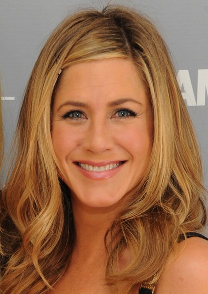 Jennifer Aniston hairstyles 2012
