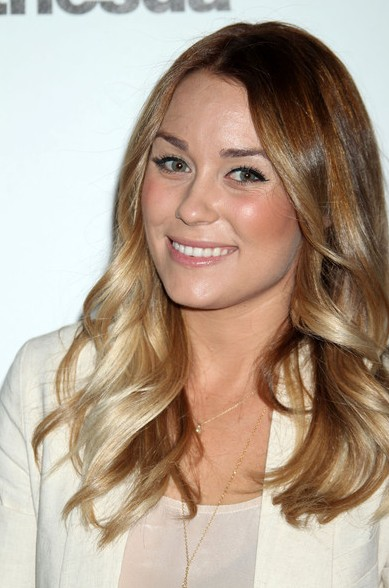 Lauren Conrad Long Wavy hairstyle 2012