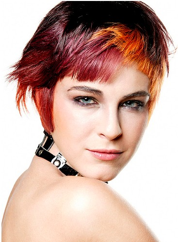 2012 hair trends: wild color bob 2012