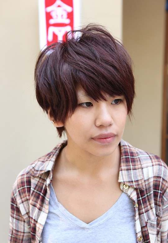 Trendy boyish short haircuts