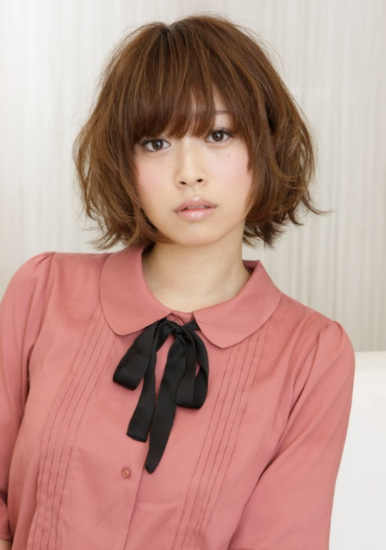 cute japanese hairstyle 2012