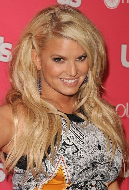 Jessica Simpson Long Straight Hairstyles