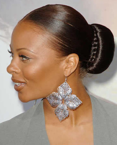 Braided Bun Hairstyles Black Women