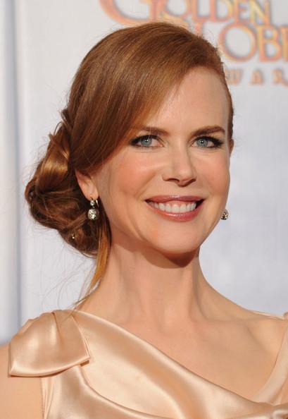 Nicole Kidman's elegant hair style