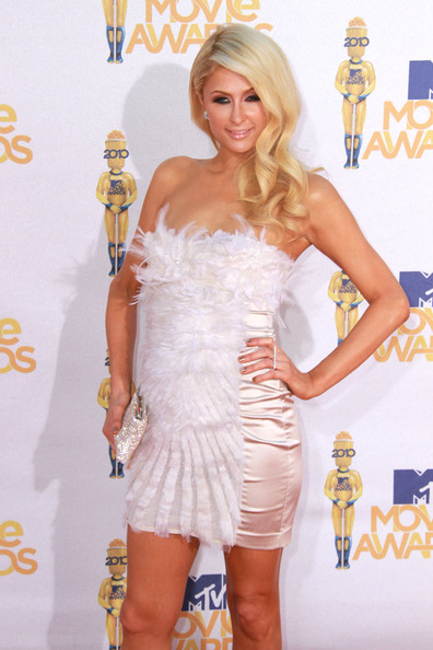 so Glamour with Long Wavy Hairstyle from Paris Hilton in 2012