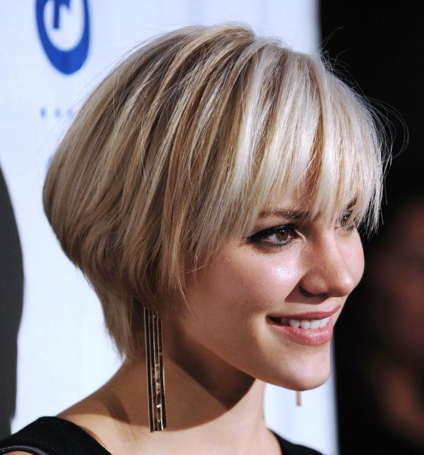 Short Hair Styles With Bangs 20 Popular Short Hair Styles With Bangs  Hairstyles Weekly