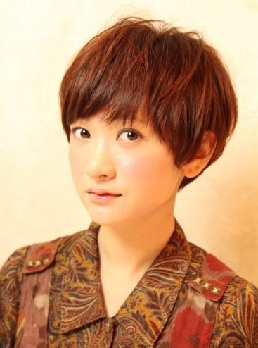 2013 Boyish Japanese Hairstyle