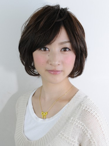 2012 Japanese Short haircut