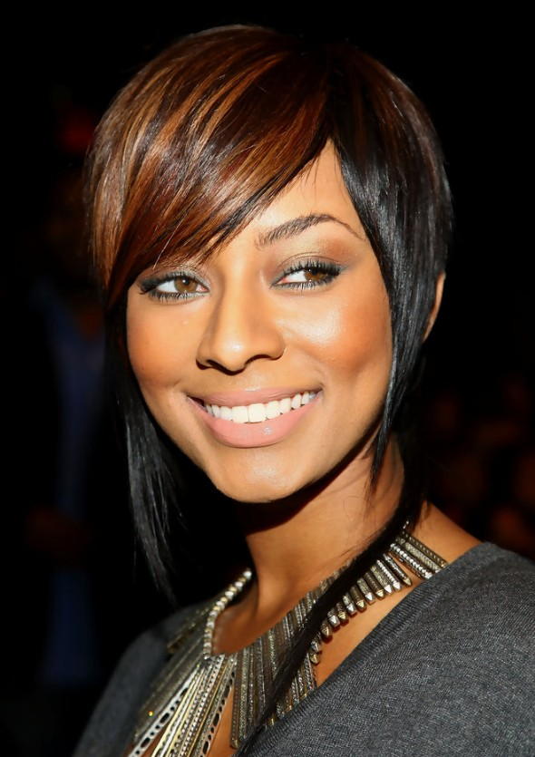 Trendy Sleek Inverted Bob Hairstyle