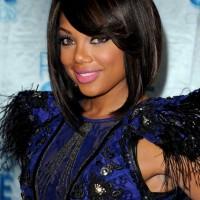 2013 African American Black Bob Hairstyle