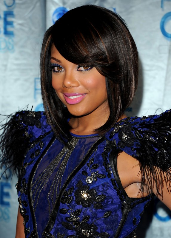 Groovy 2013 African American Black Bob Hairstyle Hairstyles Weekly Hairstyle Inspiration Daily Dogsangcom