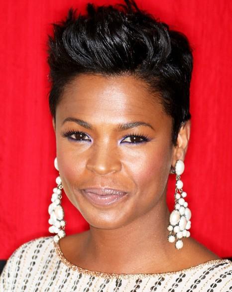 African American Faux Hawk haircut for Black Women