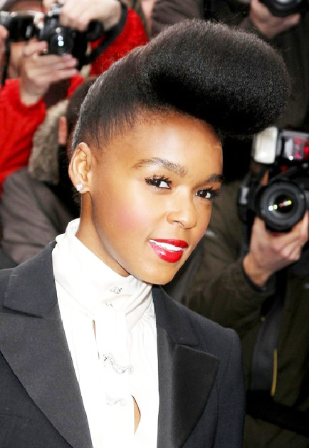 black american hair style pompadour hairstyles for hairstyles weekly 7412 | African American Pompadour Haircut