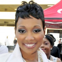 African American Short Black Wavy Hairstyle 2013