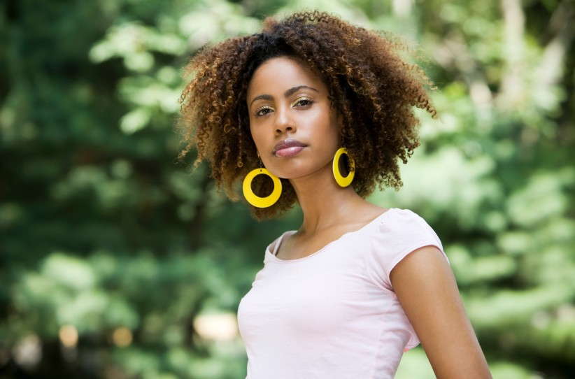 African American natural curly hairstyles