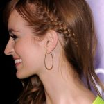Ahna O'Reilly Braided Hairstyle