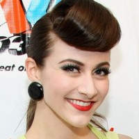 Amy Heidemann Retro Hairstyle