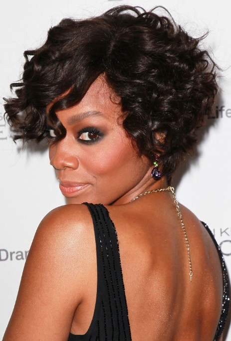 Short Curly Bob Hairstyles Black Women