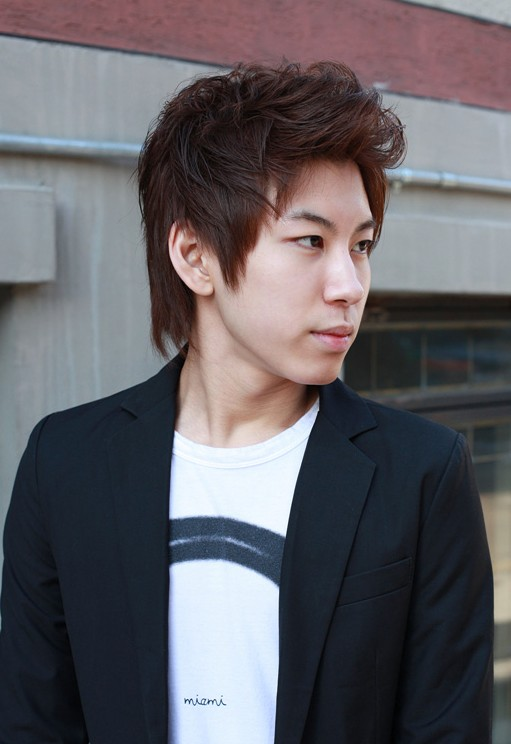 Asian Korean Mens hairstyles