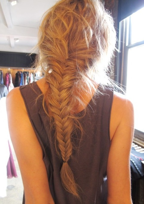 Super Fishtail Braid Hairstyles Weekly Hairstyle Inspiration Daily Dogsangcom