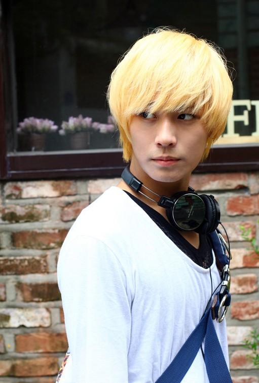 2013 Blonde Korean Hair Style For Guys Hairstyles Weekly