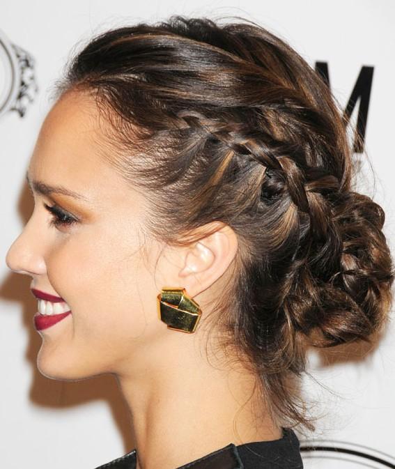 Admirable Hairstyles For Summer Braided Bun Updos Hairstyles Weekly Short Hairstyles Gunalazisus
