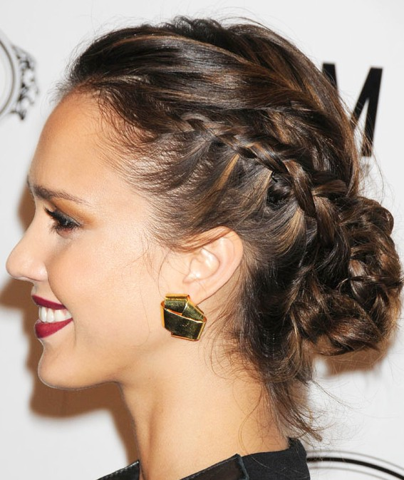 Prime Hairstyles For Summer Braided Bun Updos Hairstyles Weekly Hairstyles For Men Maxibearus
