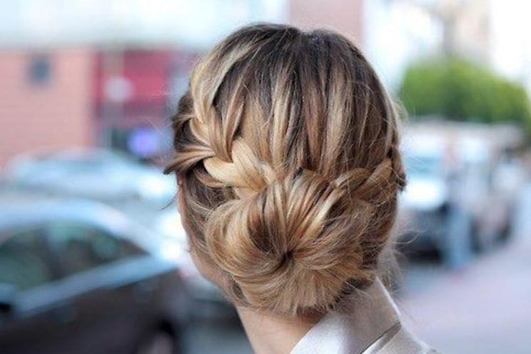 Cute Braided Bun Hairstyles For Short Hair : Braided bun hairstyles weekly