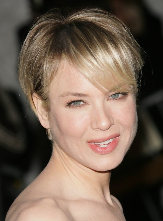 Here is a short haircut from Renee Zellweger. Her short boy cut with ...