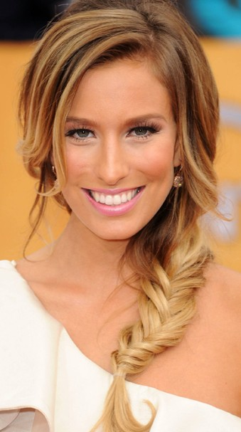 Celebrity Fishtail Braid