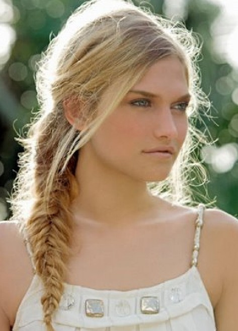 Fishtail braid hairstyles weekly for Fish tail hair