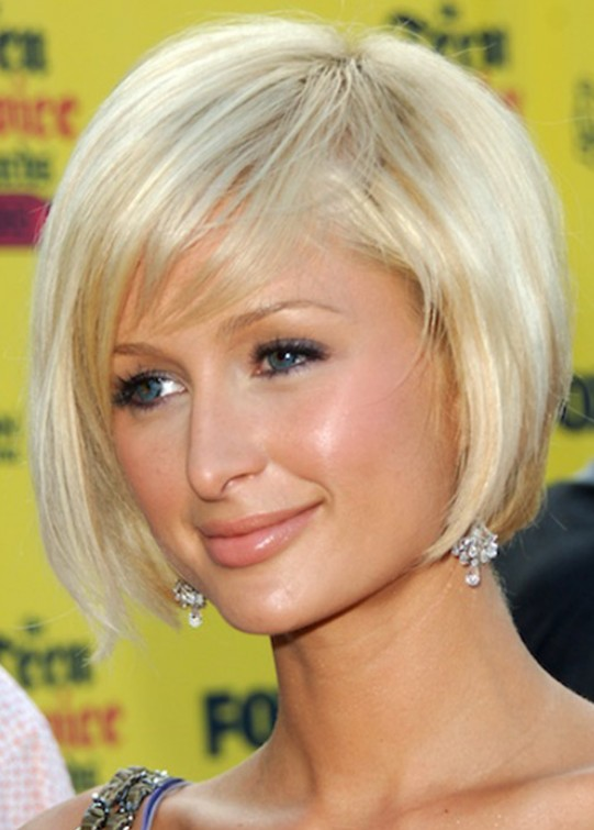 Cute Inverted Bob Hair Style