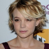 Cute Short Hairstyle with Side Bangs