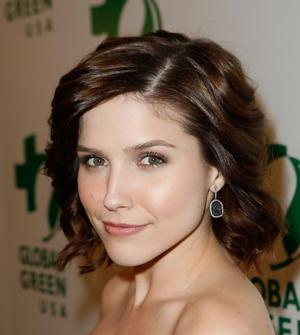 Sophia Bush Cute Short Wavy Haircut