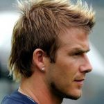David Beckham Fauxhawk Haircut