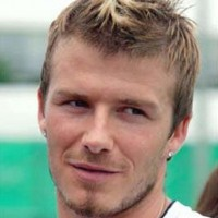 David Beckham Fauxhawk Hairstyle
