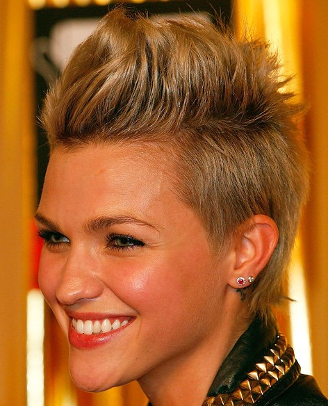 Faux Hawk Hairstyles For Women Hairstyles Weekly