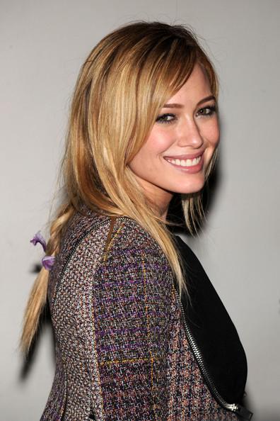 Hilary Duff Braided Hairstyle