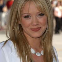 Hilary Duff Long Hairstyle