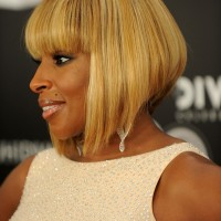 African American Inverted Bob Haircut 2013