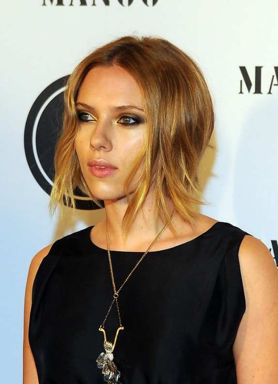 Astounding Celebrity Long Inverted Bob Hairstyle Hairstyles Weekly Hairstyle Inspiration Daily Dogsangcom