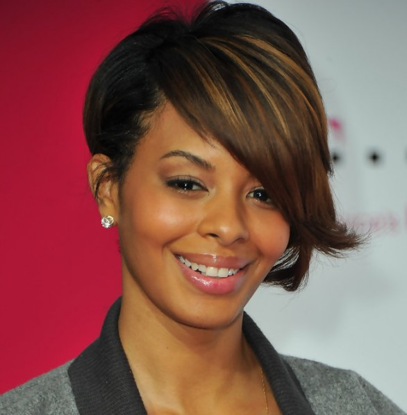Inverted Bob for Black women