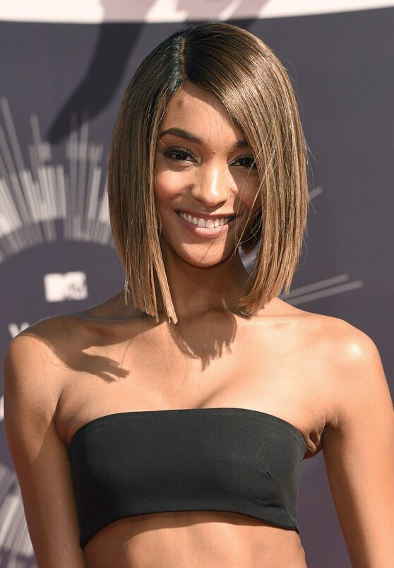 Jourdan Dunn Bob Haircut for 2015