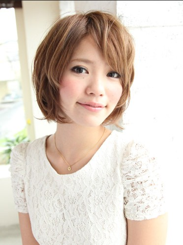 Latest Short Japanese Hairstyle